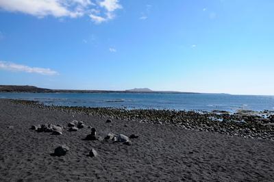 Mirador Laguna, Lavastrand